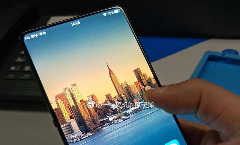 Smartphone Android da Vivo quase sem margens emerge na internet | OnePlus