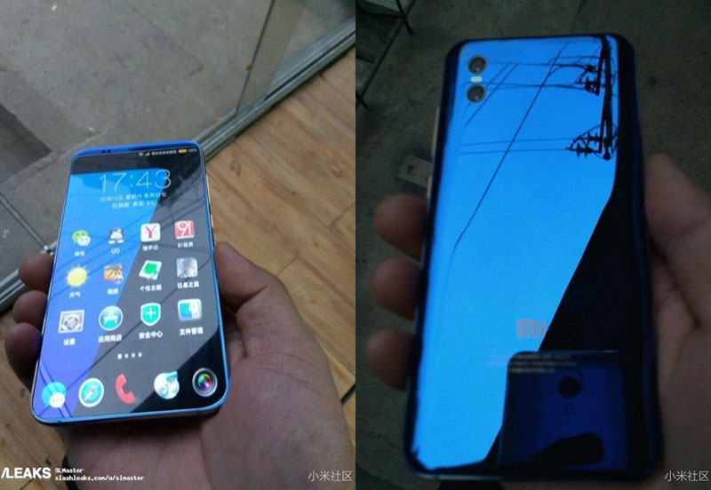 Xiaomi Mi 7 Android Qi MWC