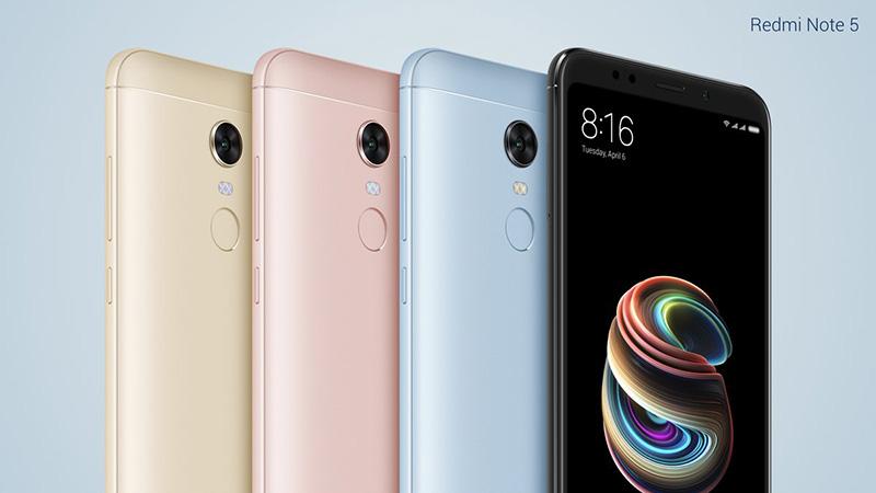 Xiaomi Redmi Note 5 Pro Lenovo S5