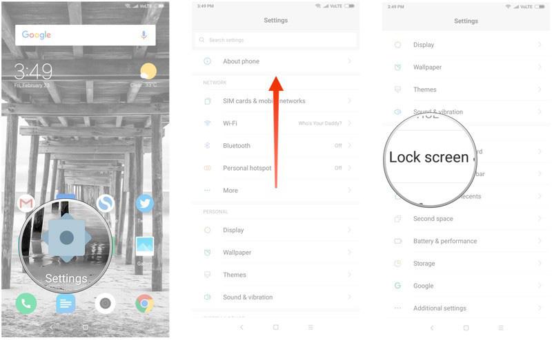 Xiaomi Redmi Note 5 Pro Face Unlock Android