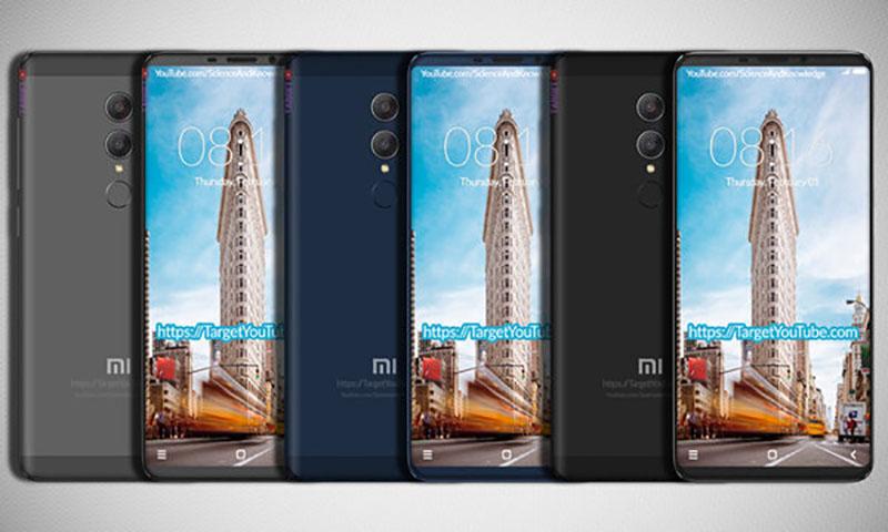 Xiaomi Redmi Note 5 smartphone Android 1