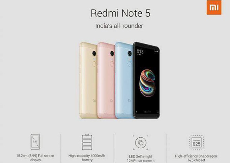 Xiaomi Redmi Note 5 Pro Android