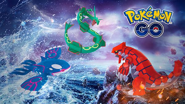 Pokémon GO Niantic Legendary Week Groudon Rayquaza Kyogre