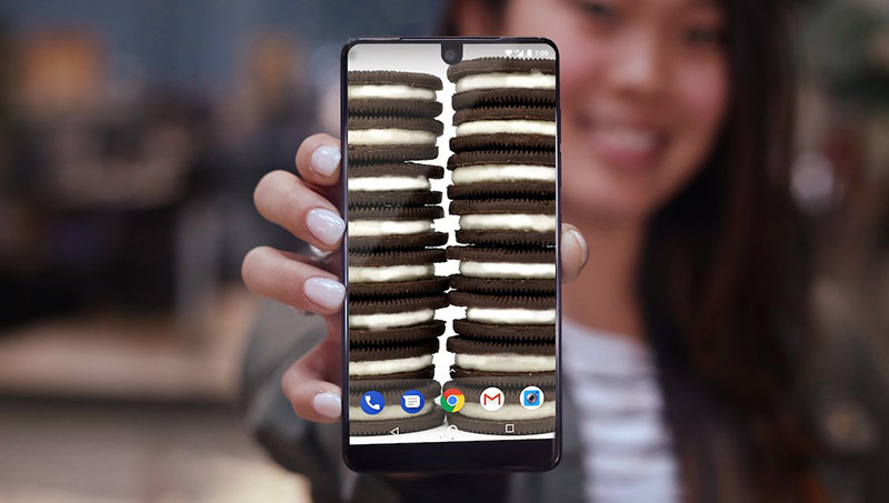 smartphone Android AnTuTu Essential Phone Android Oreo 8.1
