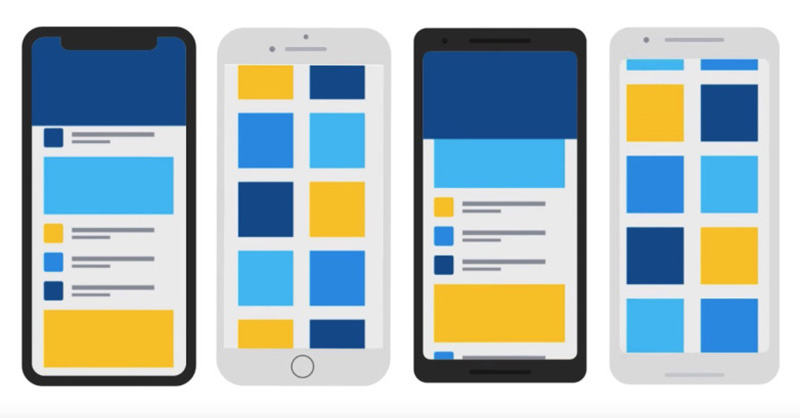 Google Futter Android Fucshia