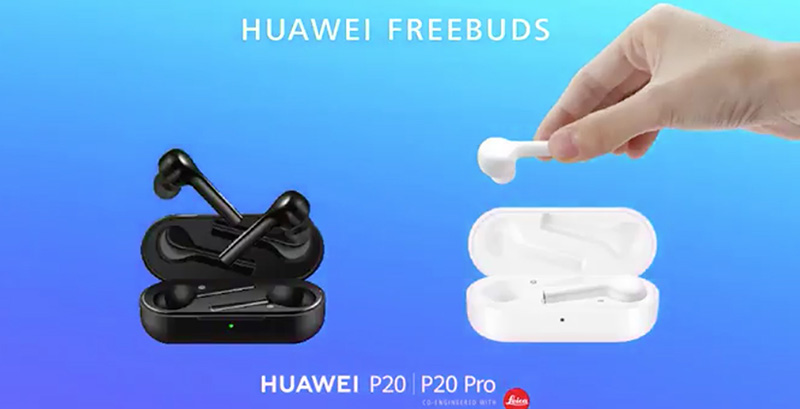 Huawei FreeBuds AirPods da Apple