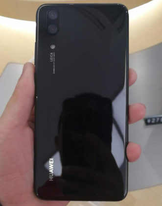 Huawei P20 Lite Android fotografado