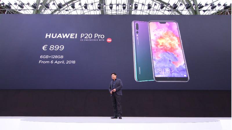 Huawei P20 Pro câmara tripla Android Oreo