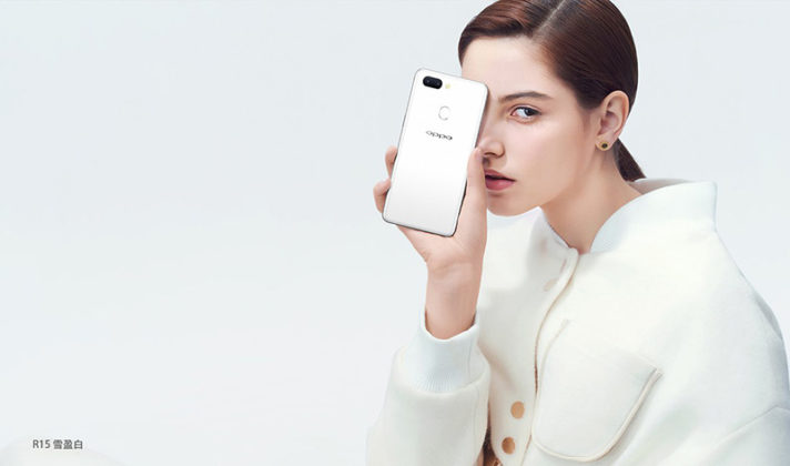 OPPO R15 OnePlus 6 smartphone Android