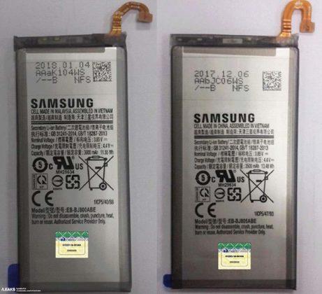 Samsung Galaxy J8 bateria Android