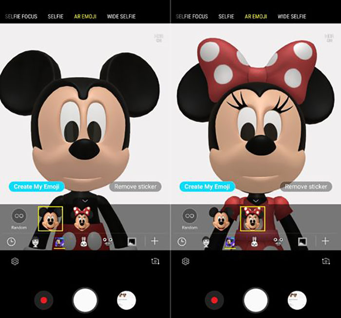 Mickey Minnie Disney Samsung Galaxy S9 Android
