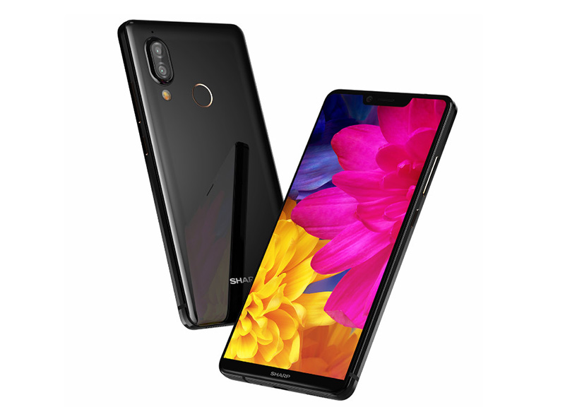 Sharp AQUOS S3 Xiaomi Mi MIX 2S Android Oreo