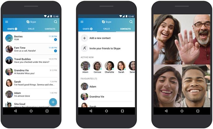 Skype Android Microsoft