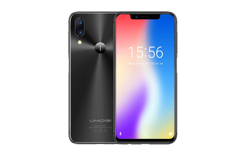 Android. Sensor biométrico do Umidigi One será na lateral do smartphone