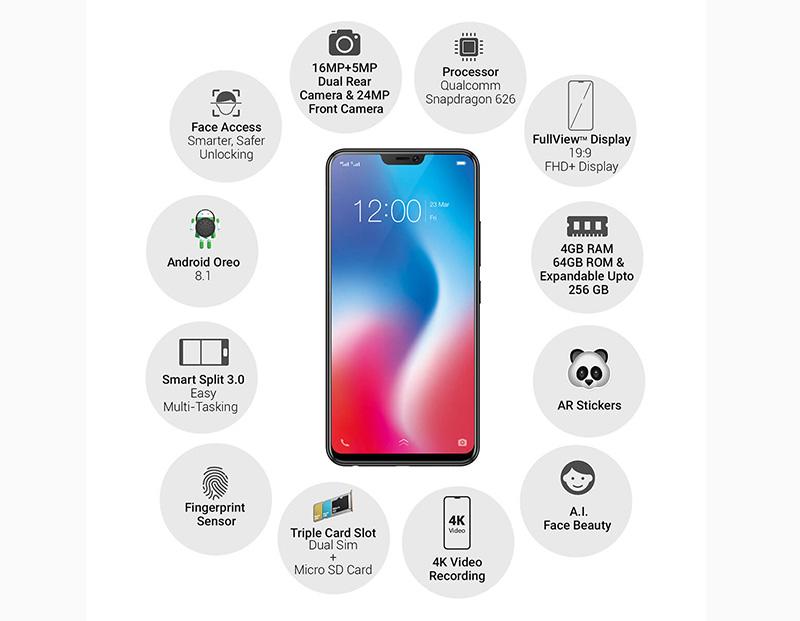 smartphone Android Vivo V9