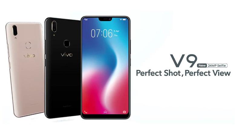 Vivo V9 smartphone Android