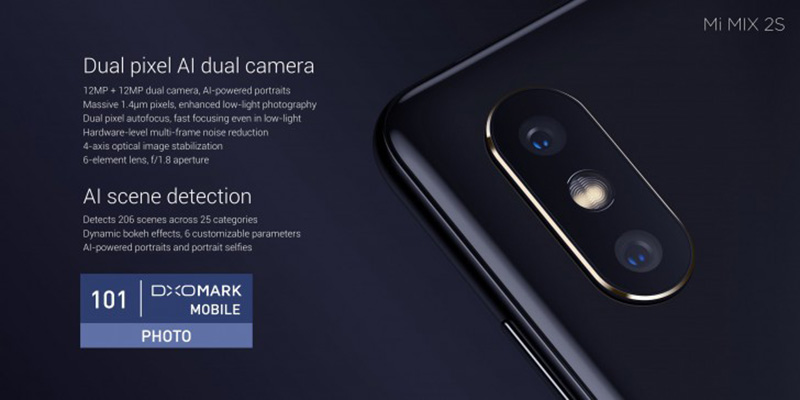 Xiaomi Mi MIX 2S Android Oreo 2