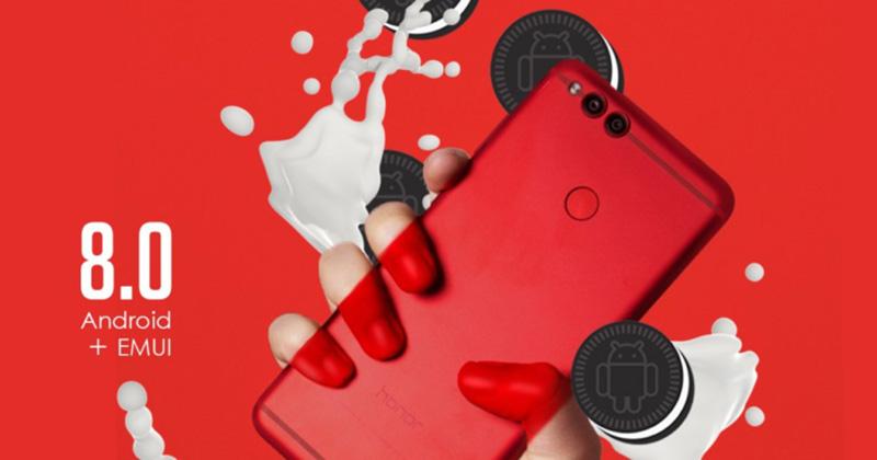 Android Oreo Huawei Honor 7X