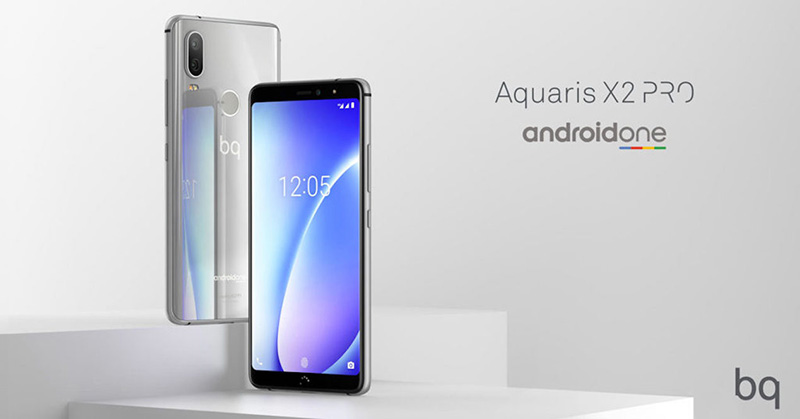 BQ Aquaris X2 Pro Android One Google