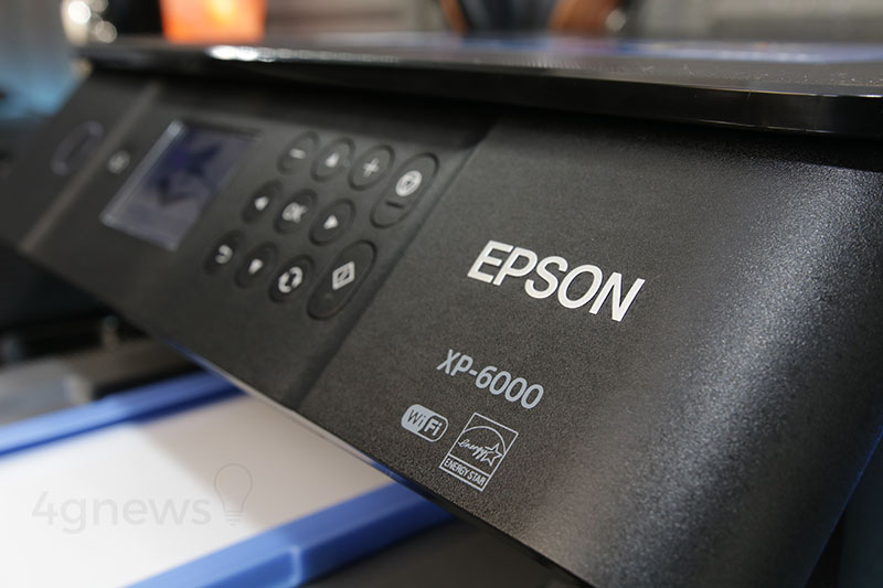 Epson Expression Premium XP-6000Epson Expression XP-6000 impressora review análise