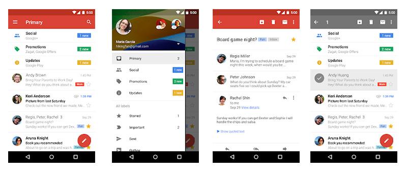 Gmail Google Android Oreo Snooze