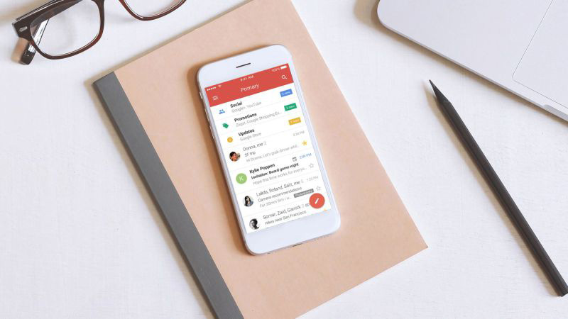 Android Gmail da Google correio eletrónico novidades novo Gmail