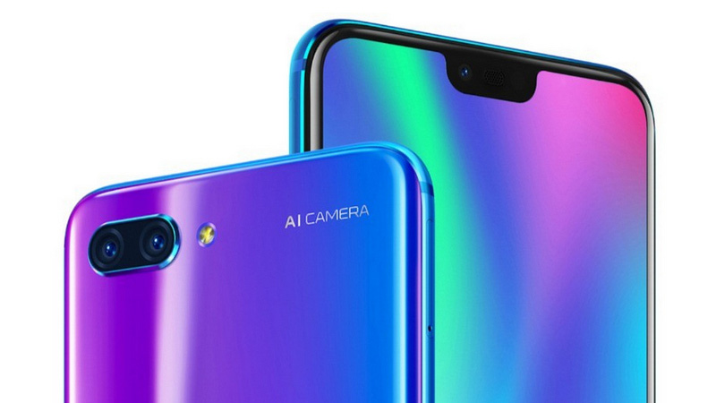 Huawei Honor 10 OnePlus 6 Android