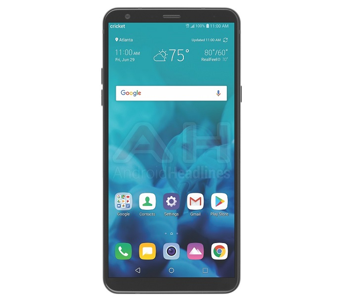LG Stylo 4 Android smartphone
