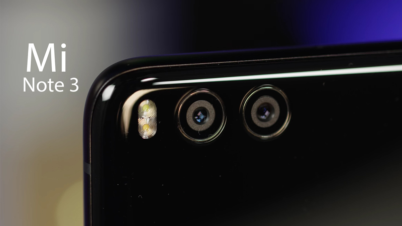 Xiaomi Mi Note 3: Habilita-te a ganhar este smartphone Android