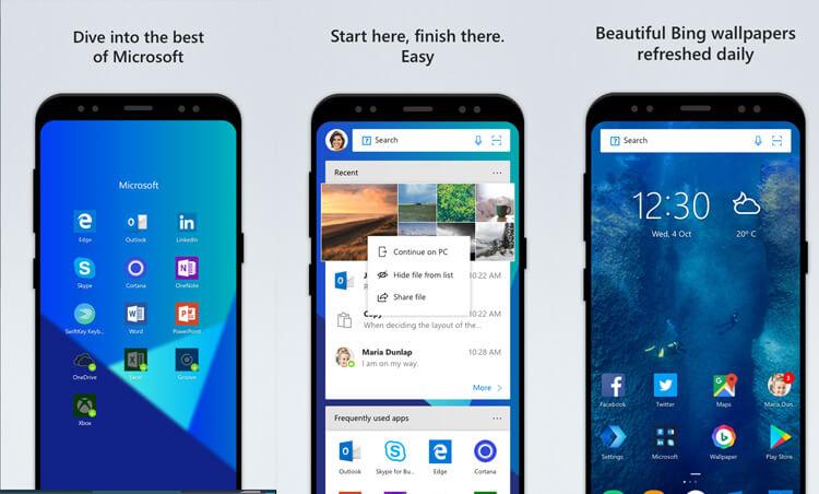 Microsoft smartphone Android Google