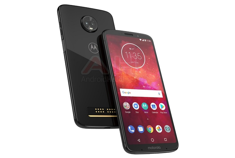 Motorola Moto Z3 Play smartphone Android