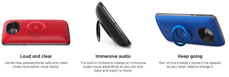 Motorola Moto Snap Stereo Speaker