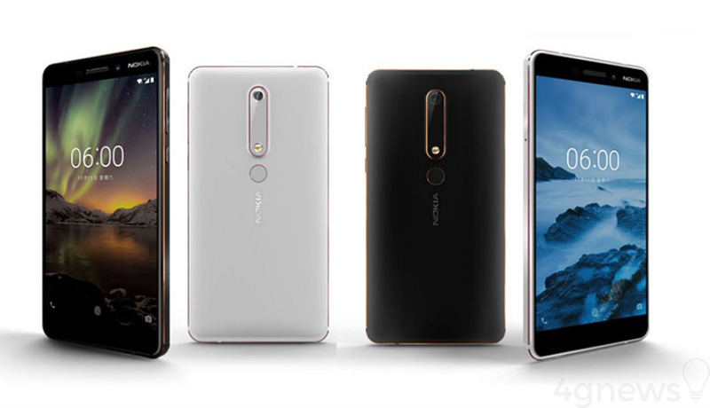 Nokia 6 Portugal Android One Xiaomi