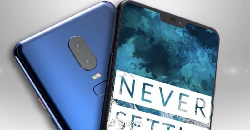 OnePlus 6 Android Oreo vídeo conceptual Smartphone