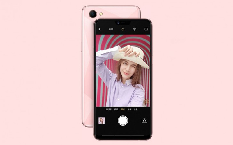 Oppo A3 smartphone Android 7 Nokia X