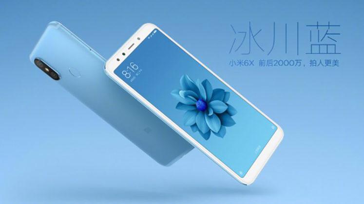 Xiaomi Mi A2 Xiaomi Mi 6X Android Oreo MIUI