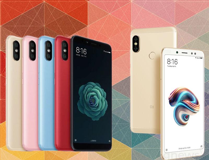 Xiaomi Redmi Note 5 Pro Xiaomi Mi 6X