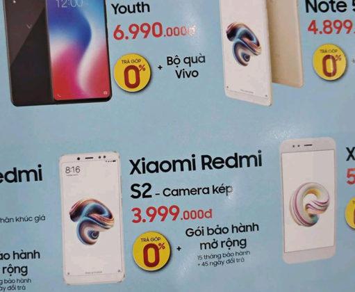 Xiaomi Redmi S2 preço Android Oreo da Google