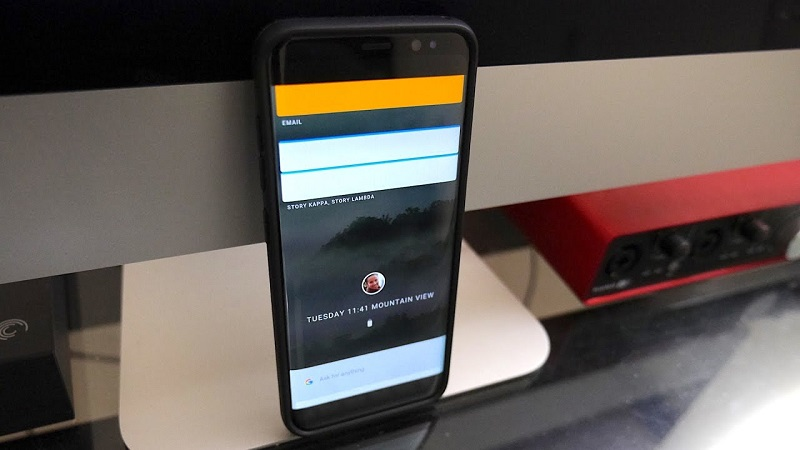 Fuchsia Google Android