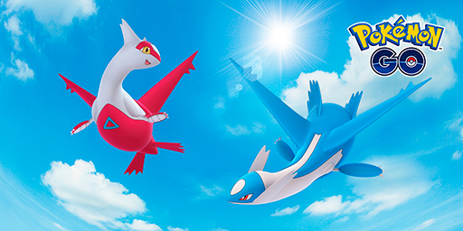 Pokémon GO Niantic Latios Latias Raid