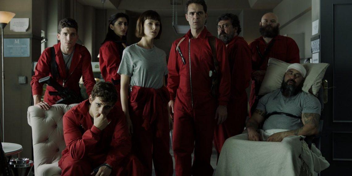 La Casa de Papel Netflix Parte 2 Bella Ciao