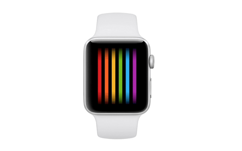 O novo WatchFace do Apple Watch é inspirado na bandeira orgulho gay