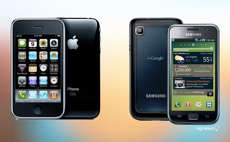 Samsung obrigada a pagar à Apple 539 milhões por violação de patentes
