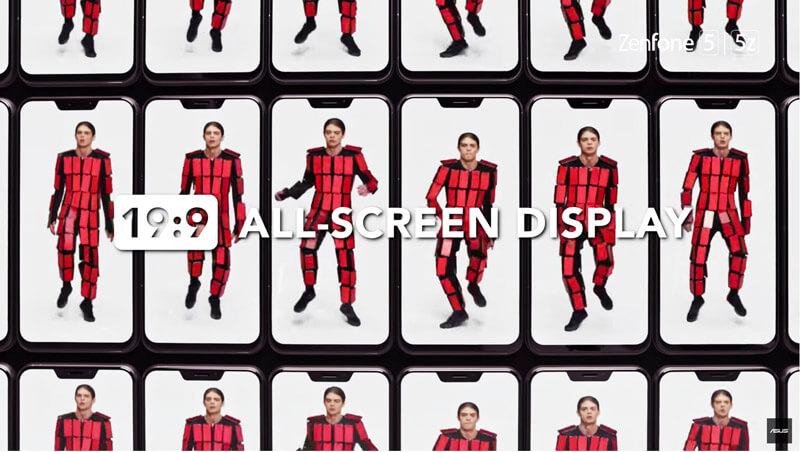 Android. O Asus Zenfone 5 e uma publicidade difícil de esquecer