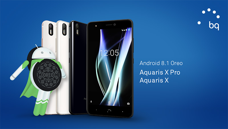 BQ Aquaris X Pro Android Oreo Google