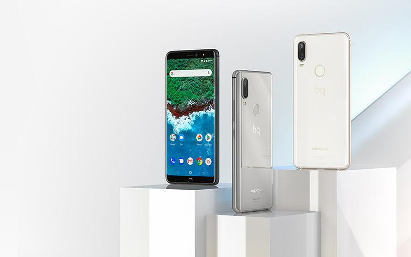 BQ Aquaris X2 Pro Android One Google 1 smartphones