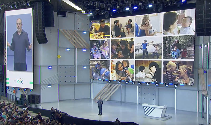 Google Photos Google Assistant Google I/O 2018