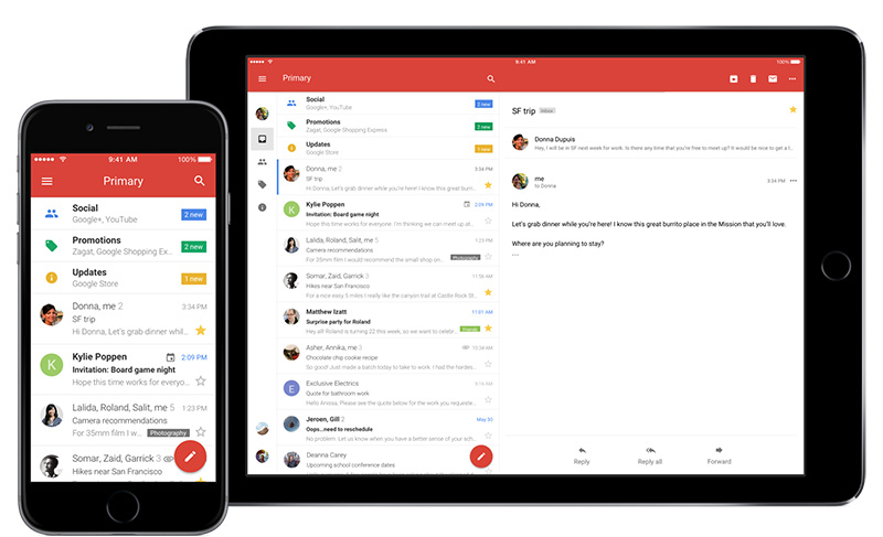 Smart Compose Gmail Google IO 2018 Gmail iOS