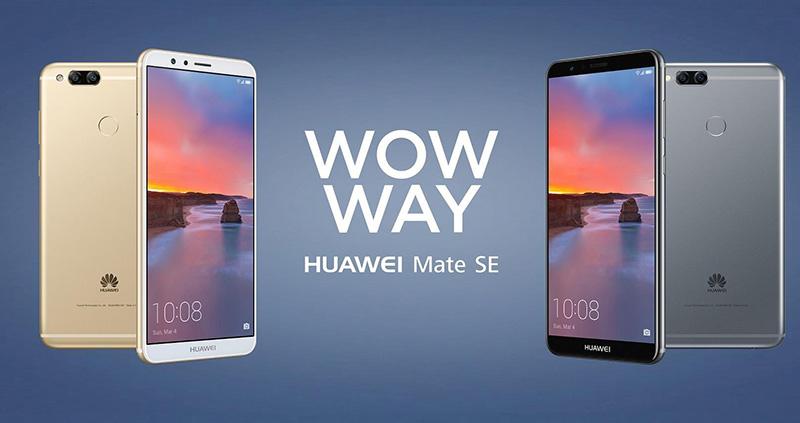Huawei Mate SE Android Oreo
