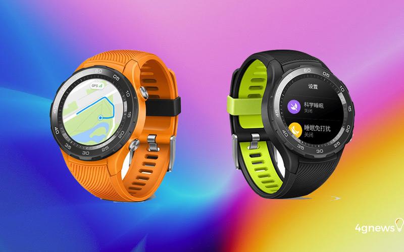 Huawei Watch 2 (2018) são mostrados pela primeira vez